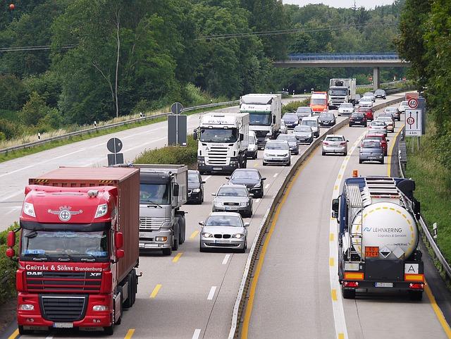 špička na dálnici