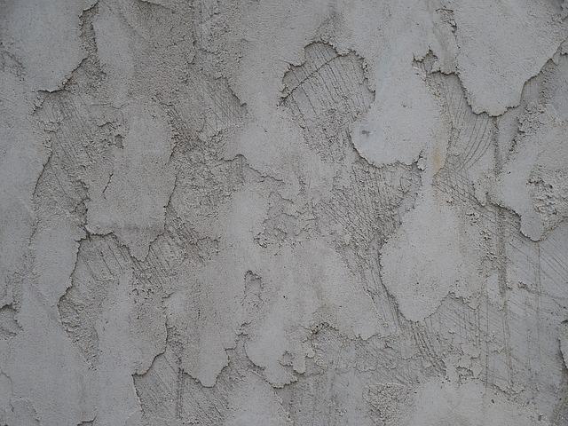 štuk na zdi