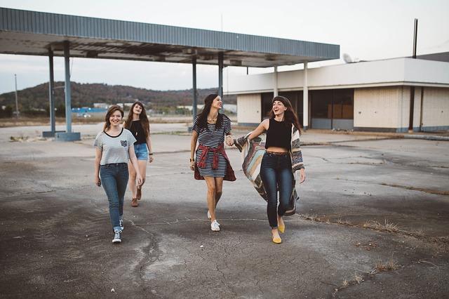 čtyři kamarádky