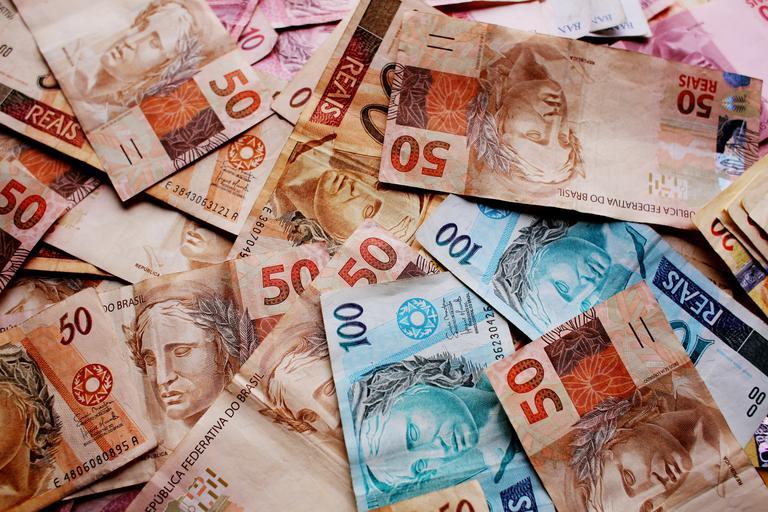 brazilské bankovky